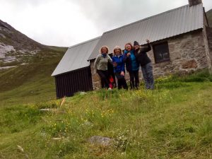 Corrour Bothy in the Lairig Ghru
