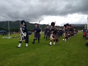 Highland Games Pipe Bands