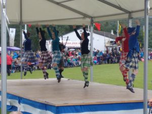 Highalnd Dancers at Highland Games