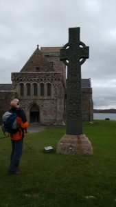 Visiting Iona Abbey