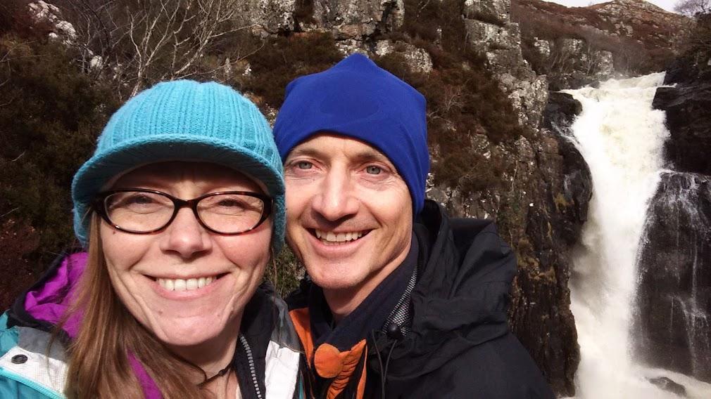 Caroline & Dave Hiking