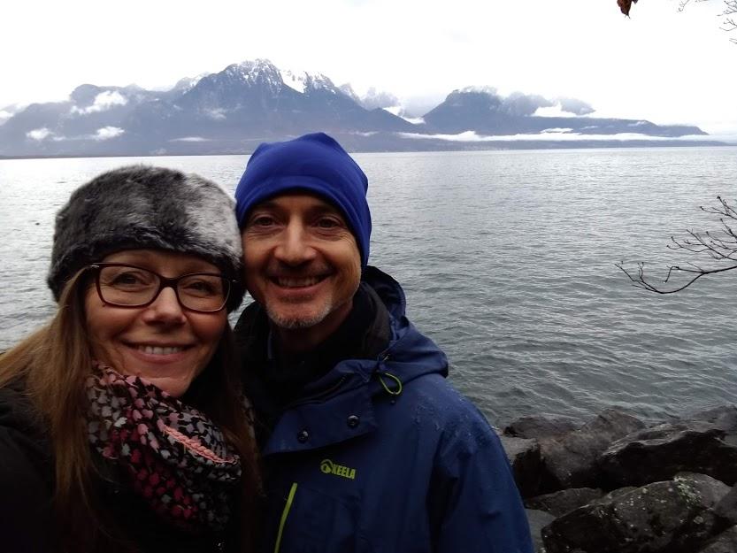 Dave & Caroline in Switzerland