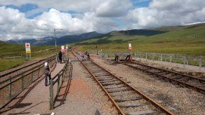 Corrour Railway at Loch Ossian