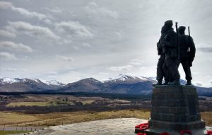 Commando Monument near Fort WIlliam