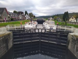 The Locks at Fort Augustus